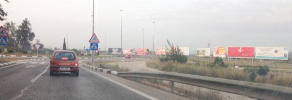 Vallas publicitarias Catarroja en la carretera CV-400