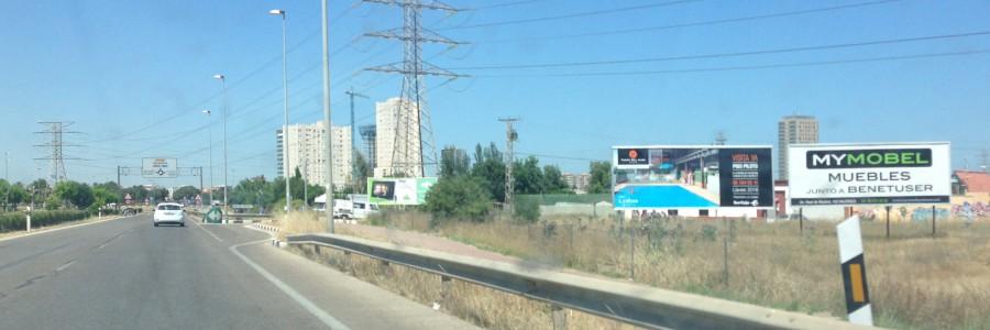 La mejor ubicación para tu publicidad exterior en Valencia
